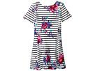 Joules Kids Striped Floral Jersey Dress (Toddler/Little Kids/Big Kids)