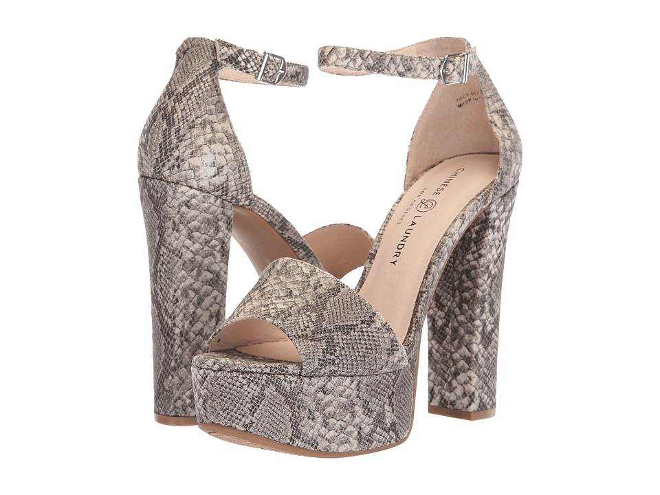 Chinese Laundry Avenue 2 (White Snake) High Heels