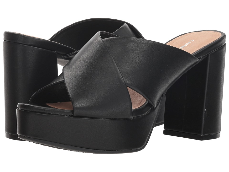Chinese Laundry Teagan (Black Dress) Women's Dress Sandals