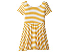fiveloaves twofish Skater Stripe Dress (Big Kids)