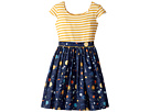 fiveloaves twofish Space Maddy Dress (Big Kids)