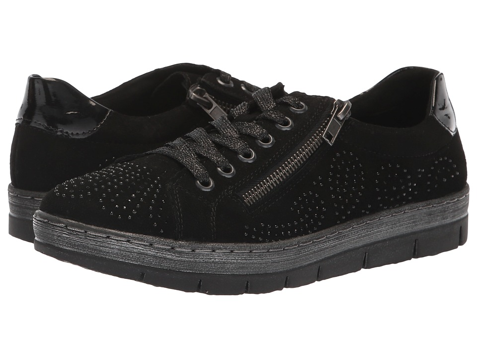 Rieker D5811 Kaja 11 (Black) Women's Shoes