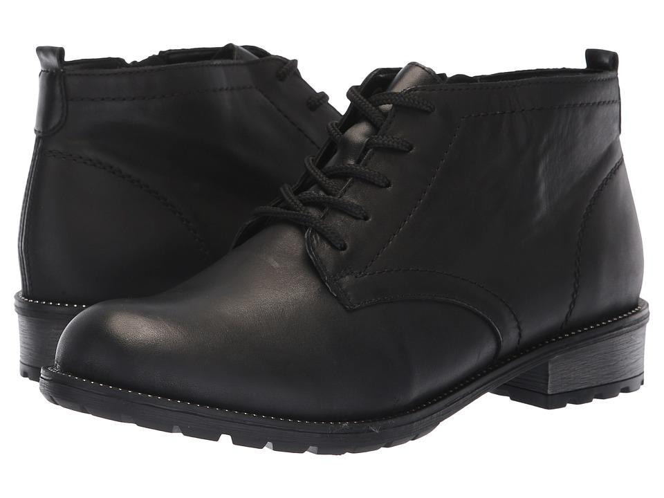 Rieker R3314 Elaine 14 (Black) Women's Shoes