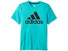 adidas Kids Short Sleeve Camo Logo Tee (Big Kids)