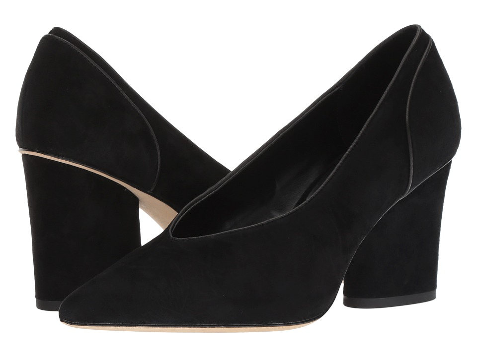 Donald J Pliner Glenn (Black Kid Suede) High Heels