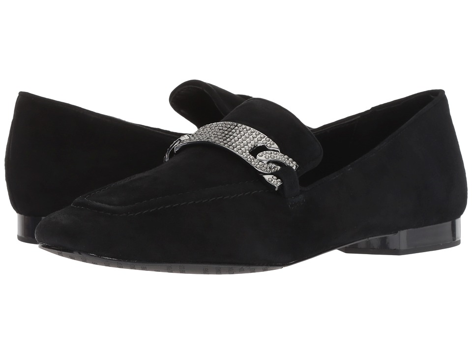 Donald J Pliner Halen (Black Kid Suede) Slip-On Shoes
