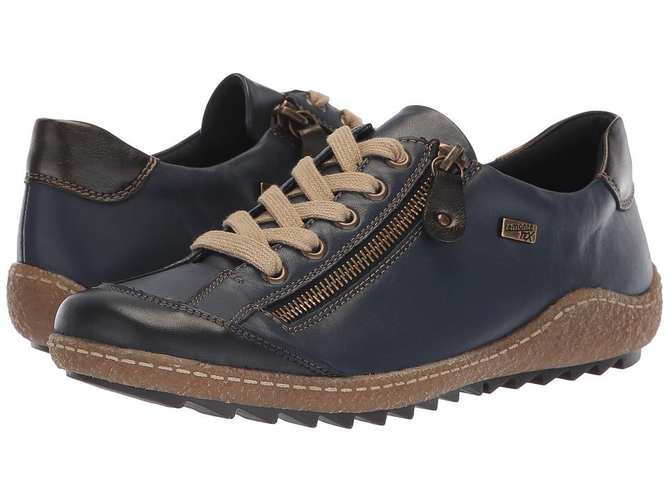 Rieker R4703 Liv 03 (Pazifik/Antik/Pazifik) Women's Shoes