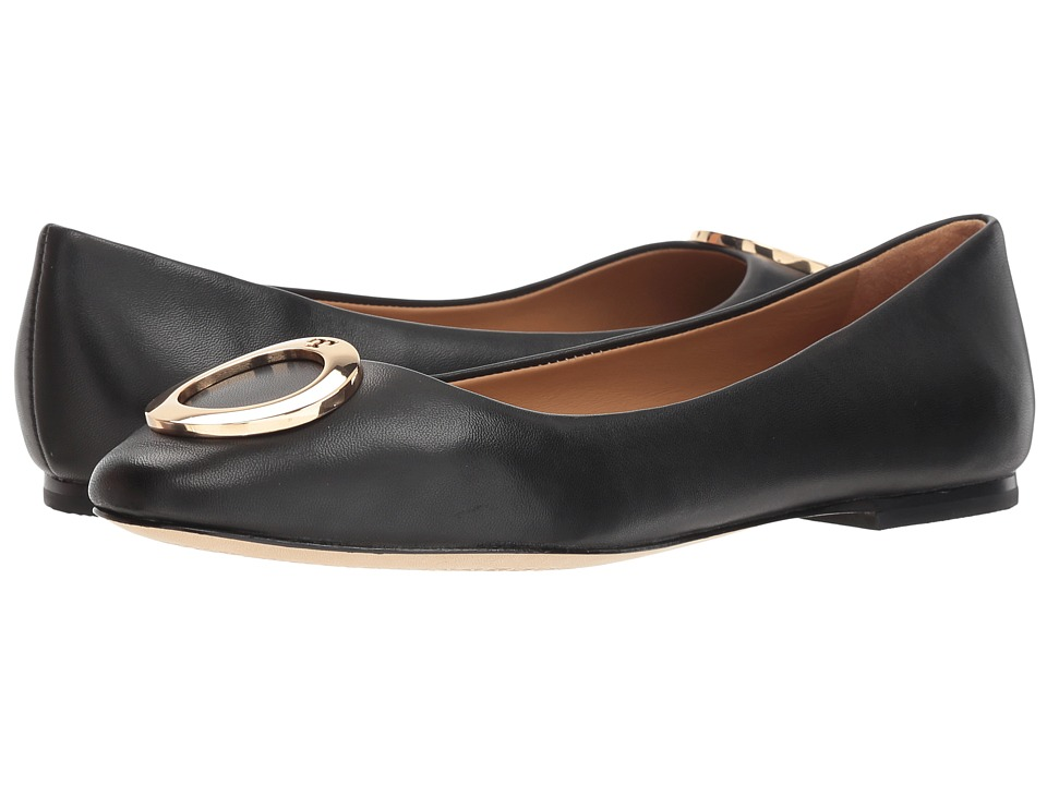 Tory Burch Caterina Ballet Flat (Perfect Black) Flats