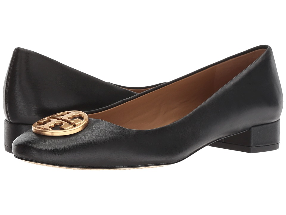 Tory Burch Chelsea 25mm Ballet Flat (Perfect Black) Flats