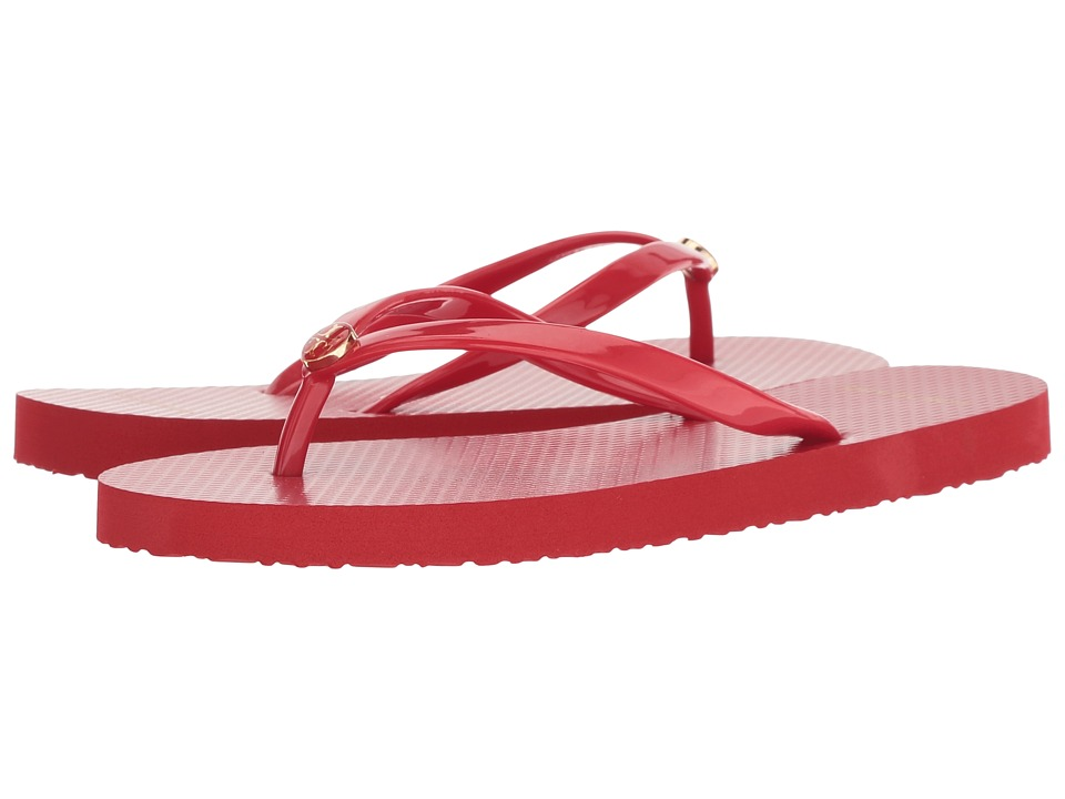 Tory Burch Thin Flip Flop (Brilliant Red) Sandals