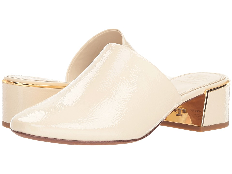 Tory Burch Juliana 45mm Mule (New Cream) Women's Clog/Mule Shoes