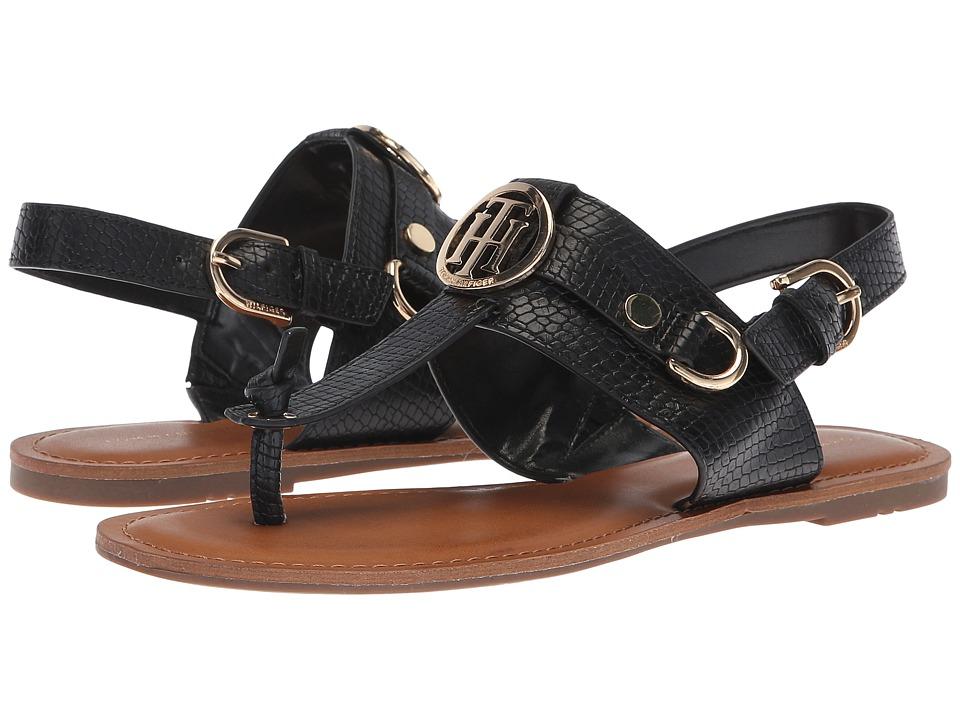 Tommy Hilfiger Luvee (Black) Women's Shoes