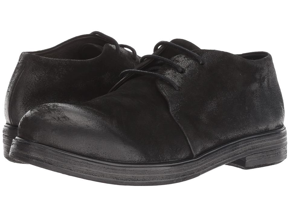 Marsell Zucca Zeppa Round Toe Oxford (Black)