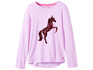 Joules Kids Sequin Embroidery Jersey Top (Toddler/Little Kids/Big Kids)