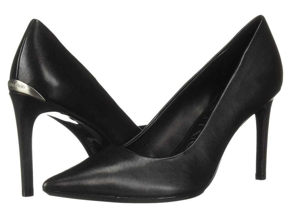 Calvin Klein Ronna (Black Nappa) High Heels