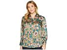 LAUREN Ralph Lauren Plus Size Floral-Print Button-Down Shirt