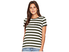 LAUREN Ralph Lauren LAUREN Ralph Lauren Striped Jersey Pocket T-Shirt