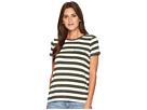 LAUREN Ralph Lauren Striped Jersey Pocket T-Shirt
