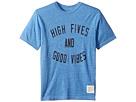 The Original Retro Brand Kids High Fives Good Vibes Short Sleeve Tri-Blend Tee (Big Kids)
