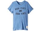 The Original Retro Brand Kids High Fives Good Vibes Tri-Blend Tee (Little Kids/Big Kids)