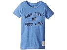 The Original Retro Brand Kids High Fives Good Vibes Tri-Blend Tee (Toddler)
