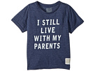 The Original Retro Brand Kids I Still Live with My Parents Short Sleeve Tri-Blend Tee (Little Kids/Big Kids)
