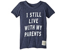 The Original Retro Brand Kids I Still Live with My Parents Short Sleeve Tri-Blend Tee (Toddler)