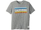 The Original Retro Brand Kids Retro California Mock Twist Short Sleeve Tee (Big Kids)