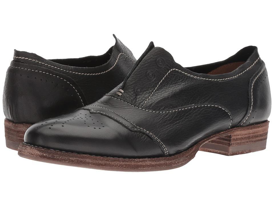 Blackstone Slip-On Cap Toe (Black) Slip-On Shoes