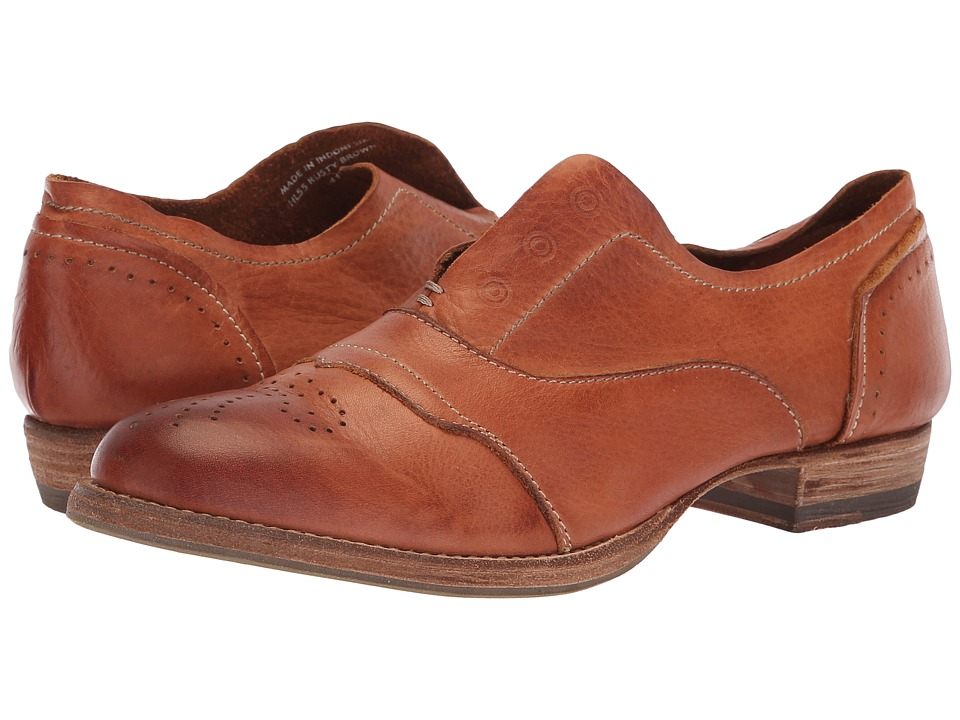 Blackstone Slip-On Cap Toe (Rusty Brown) Slip-On Shoes