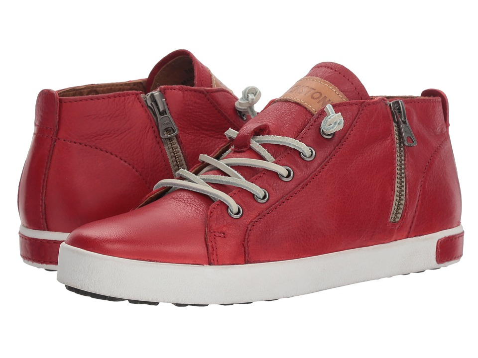 Blackstone Mid Sneaker (Claret Red)