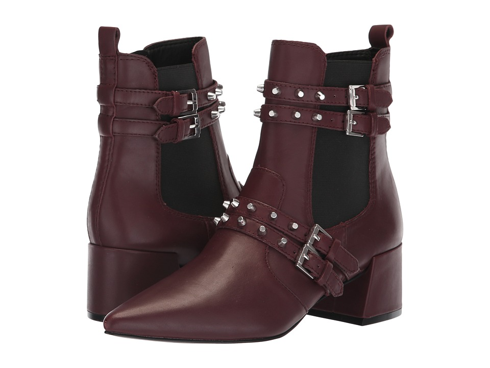 KENDALL + KYLIE Rad 4 (Burgundy/Black) Women's Shoes