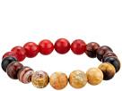 Dee Berkley Root Chakra Physical Ability Gemstone Beaded Bracelet