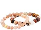 Dee Berkley Power Of Love Moonstone Gemstone Beaded Bracelet Set