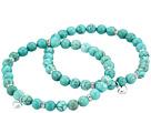 Dee Berkley Friendship Stabilized Turquoise Gemstone Duo Bracelet Set