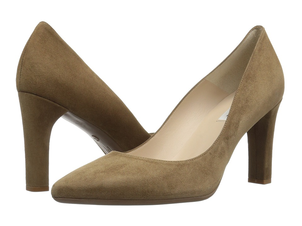 L.K. Bennett Tess (Biscuit Suede) Women's Shoes