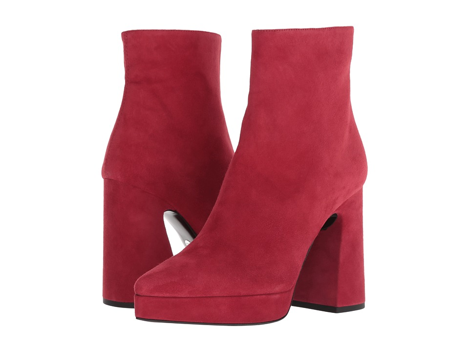 Proenza Schouler HG Bootie Plat (Medium Red)