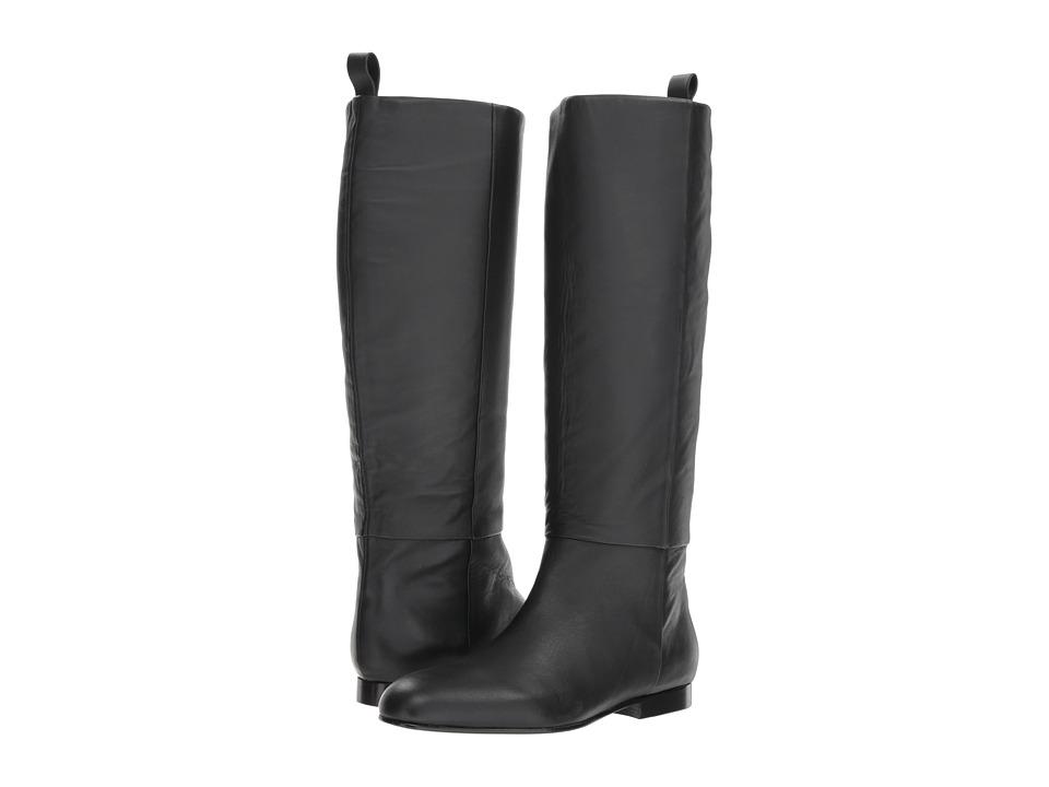 Jil Sander Navy JN31007A (Black) Women's Pull-on Boots
