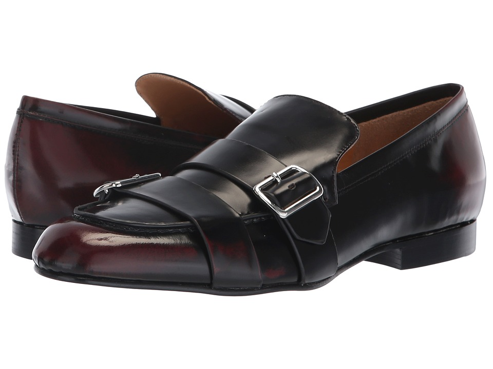 Jil Sander Navy JN31054A (Dark Red) Slip-On Shoes