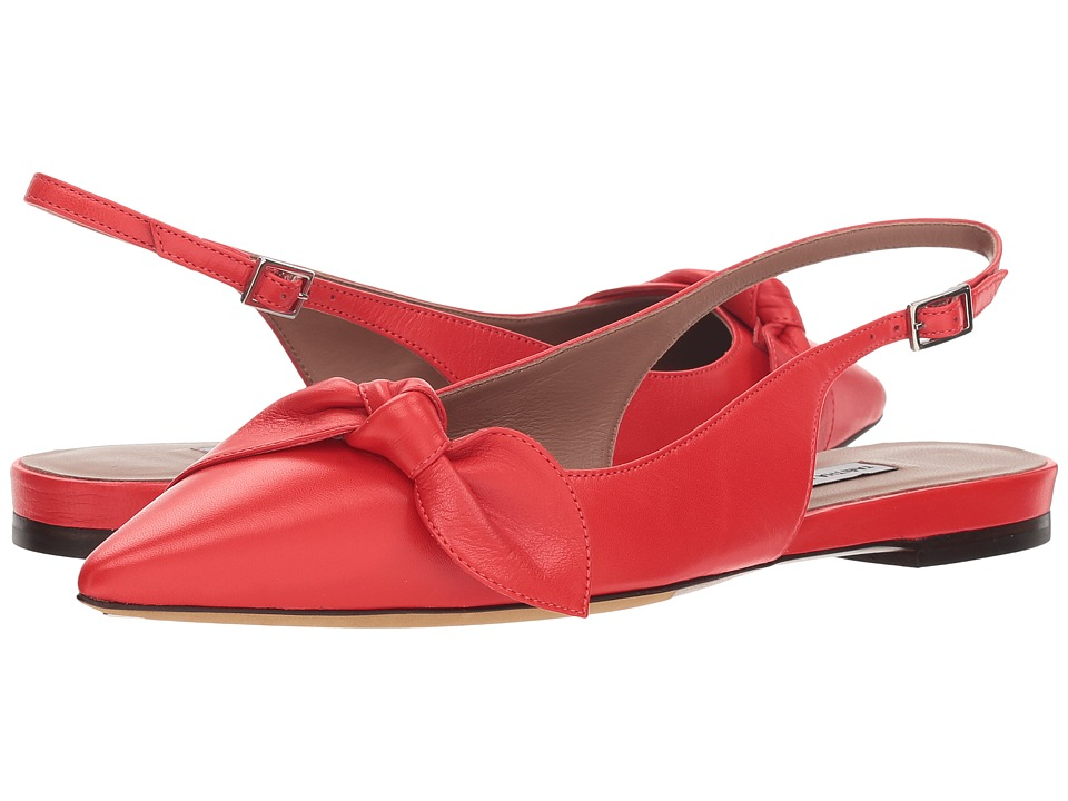 Tabitha Simmons Knotty (Red Nappa) Women's Shoes