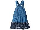Levi's(r) Kids Laney Overall Dress (Infant)