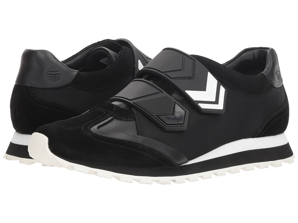 Tory Sport Chevron 2 Strap Trainer (Perfect Black/Perfect Black) Women's Shoes