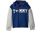 Tommy Hilfiger Kids Color Block Popover Hoodie (Big Kids)