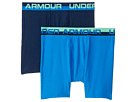 Under Armour Kids 2-Pack Solid Performance Boxer Set (Big Kids)