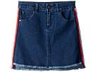 Tommy Hilfiger Kids Side Taping Denim Skirt (Little Kids/Big Kids)