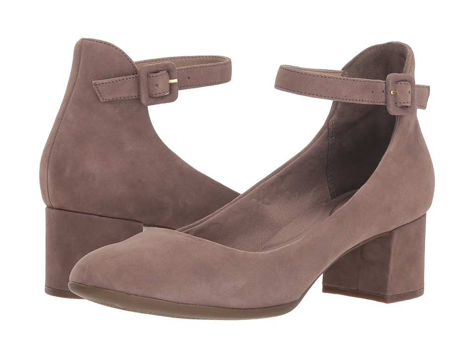 Rockport Total Motion Novalie Anklestrap (Warm Iron) Women's Shoes
