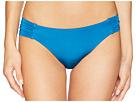 Trina Turk Getaway Solids Shirred Side Hipster Bottoms