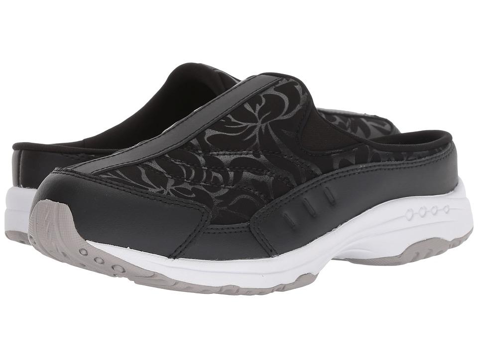 Easy Spirit Traveltime 317 (Black/Black) Slip-On Shoes