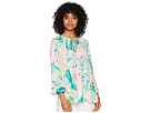 Lilly Pulitzer Willa Flounce Sleeve Top