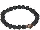 Dee Berkley Buddha Bracelet with Lava Stone